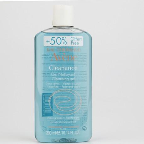 AVENE CLEANANCE GEL LIMPIADOR 200 ML  1OO ML