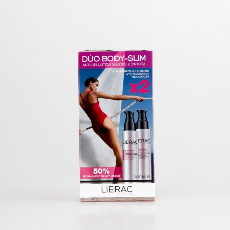 LIERAC DUO ANTICEL VIENTRE Y CINTURA 2X200ML