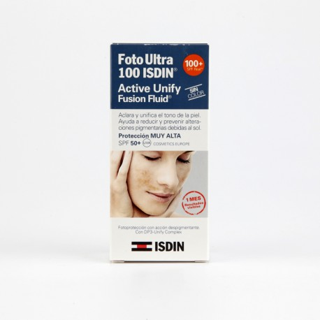 FOTOULTRA 100ISDIN ACTIVE UNIFY FUSION FLUID 50