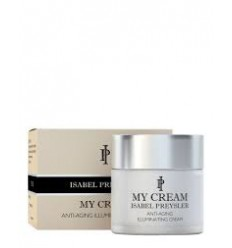 MY CREAM ISABEL PREYSLER. CREMA ANTI  EDAD EFECTO LUMINOSIDAD 60 ML