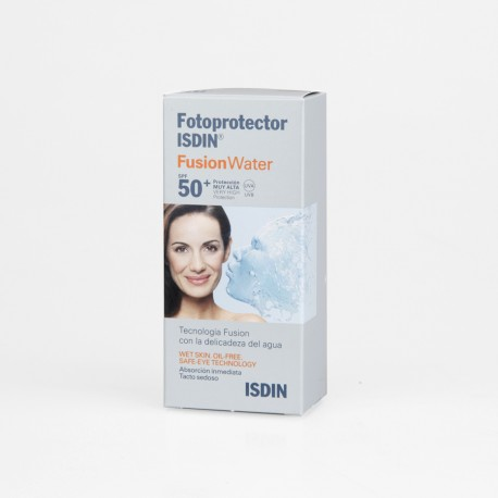 FOTOPROTECTOR ISDIN SPF-50 FUSION WATER 50 ML
